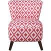 Brayden Studio Ikat Slipper Chair