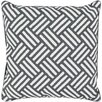 Brayden Studio Basketweave  Throw Pillow