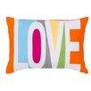 Brayden Studio Love Cotton Throw Pillow