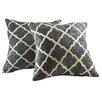 Brayden Studio Alcina Throw Pillow (Set of 2)