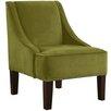 Brayden Studio Nail Button Swoop Arm Chair