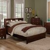 Brayden Studio Solana Platform Bed with Bookcase Headboard