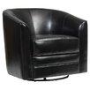 Brayden Studio Swivel Slipper Chair