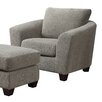 Brayden Studio Arm Chair and Ottoman