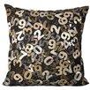 Brayden Studio Natural Leather Hide Throw Pillow