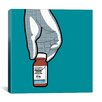 """Brayden Studio Drug by Gregoire """"Leon"""" Guillemin Graphic Art on Wrapped Canvas in Silver"""