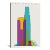 Brayden Studio Los Angeles by Yoni Alter Graphic Art on Wrapped Canvas