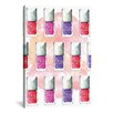 Brayden Studio Dior Nail Polish by Rongrong DeVoe Painting Print on Wrapped Canvas