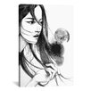 Brayden Studio Long Hair by Rongrong DeVoe Painting Print on Wrapped Canvas