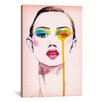 Brayden Studio Make Up by Rongrong DeVoe Painting Print on Wrapped Canvas