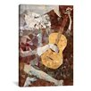 Brayden Studio Old Guitarist Derezzed by 5by5collective Graphic Art on Wrapped Canvas