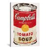 "Brayden Studio ""Cambells Soup Can Derezzed"" by Vintage Advertisement on Wrapped Canvas"