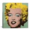 Brayden Studio 'Marilyn Derezzed' Graphic Art on Wrapped Canvas
