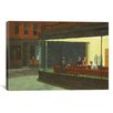 Brayden Studio Nighthawks Derezzed Painting Print on Wrapped Canvas