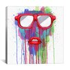 Brayden Studio Red Shades by Ric Stultz Painting Print on Wrapped Canvas