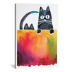 Brayden Studio Cats Artprint by Cat Coquillette Painting Print on Wrapped Canvas