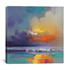 Brayden Studio Cumulus Dissonance Study by Scott Naismith Painting Print on Wrapped Canvas