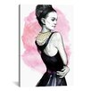 Brayden Studio Natalie Portman by Rongrong DeVoe Painting Print on Wrapped Canvas