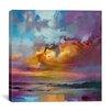 Brayden Studio Consonant Sky by Scott Naismith Painting Print on Wrapped Canvas