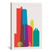 Brayden Studio Chicago by Yoni Alter Graphic Art on Wrapped Canvas