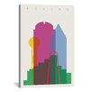 Brayden Studio Dallas by Yoni Alter Graphic Art on Wrapped Canvas