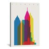Brayden Studio Atlanta by Yoni Alter Graphic Art on Wrapped Canvas