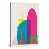 Brayden Studio Barcelona by Yoni Alter Graphic Art on Wrapped Canvas