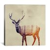 Brayden Studio Deer I by Andreas Lie Graphic Art on Wrapped Canvas