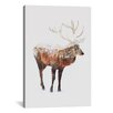 Brayden Studio Deer V by Andreas Lie Graphic Art on Wrapped Canvas