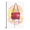 Brayden Studio Chanel Bag by Rongrong DeVoe Painting Print on Wrapped Canvas
