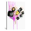 Brayden Studio Chanel by Rongrong DeVoe Painting Print on Wrapped Canvas