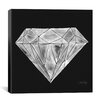 Brayden Studio Diamond Artprint by Cat Coquillette Graphic Art on Wrapped Canvas