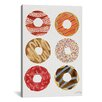 Brayden Studio Donuts Artprint II by Cat Coquillette Graphic Art on Wrapped Canvas