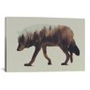 Brayden Studio Wolf by Andreas Lie Graphic Art on Wrapped Canvas