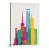 Brayden Studio Shanghai by Yoni Alter Graphic Art on Wrapped Canvas
