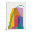Brayden Studio St. Louis by Yoni Alter Graphic Art on Wrapped Canvas