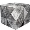 Brayden Studio Sumpter Cube Ottoman