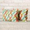 Brayden Studio Hardy Indoor/Outdoor Throw Pillow (Set of 2)