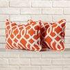 Brayden Studio Stark Indoor/Outdoor Throw Pillow (Set of 2)