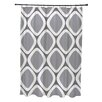 Brayden Studio Schacher Geometric Shower Curtain