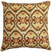 Brayden Studio Gambino Ikat Cotton Throw Pillow