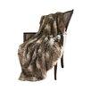 Brayden Studio Higgin Faux Fur Lounge Throw
