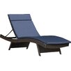 Brayden Studio Morello Chaise Lounge with Cushion (Set of 2)