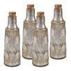 Brayden Studio Mouth Blown Glass Decorative Bottle (Set of 4)