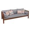 Brayden Studio Gallien Outdoor Sofa with Cushions