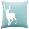 Brayden Studio Birkholz Deer Cotton Throw Pillow