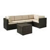Brayden Studio Crosson 6 Piece Deep Seating Group with Cushion