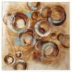 Brayden Studio Circles 1 Printing Print on Wrapped Canvas