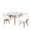 Brayden Studio Thomas Milwaukee 9 Piece Dining Set with Cushions
