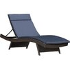 Brayden Studio Winscombe Chaise Lounge with Cushion